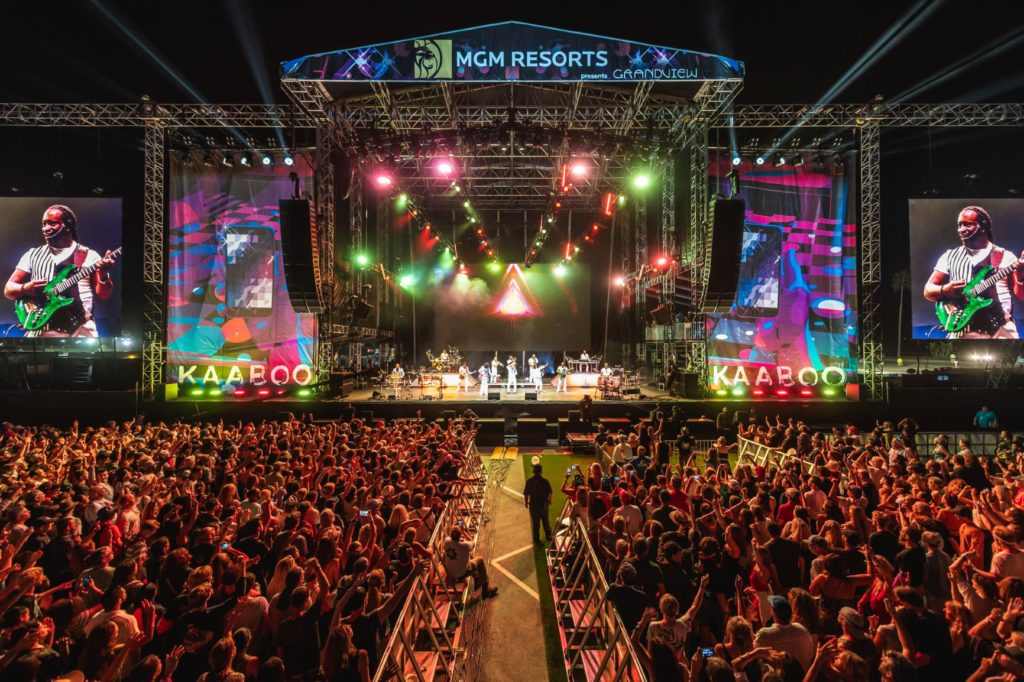 Earth wind and fire KAABOO Alive Coverage photo
