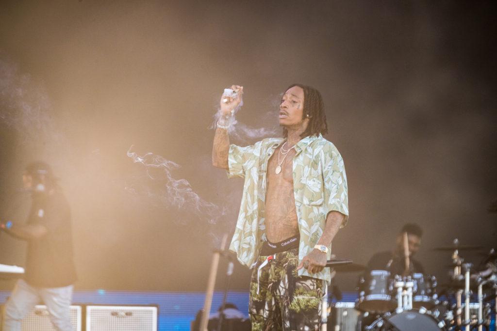 Wiz Khalifa at KAABOO