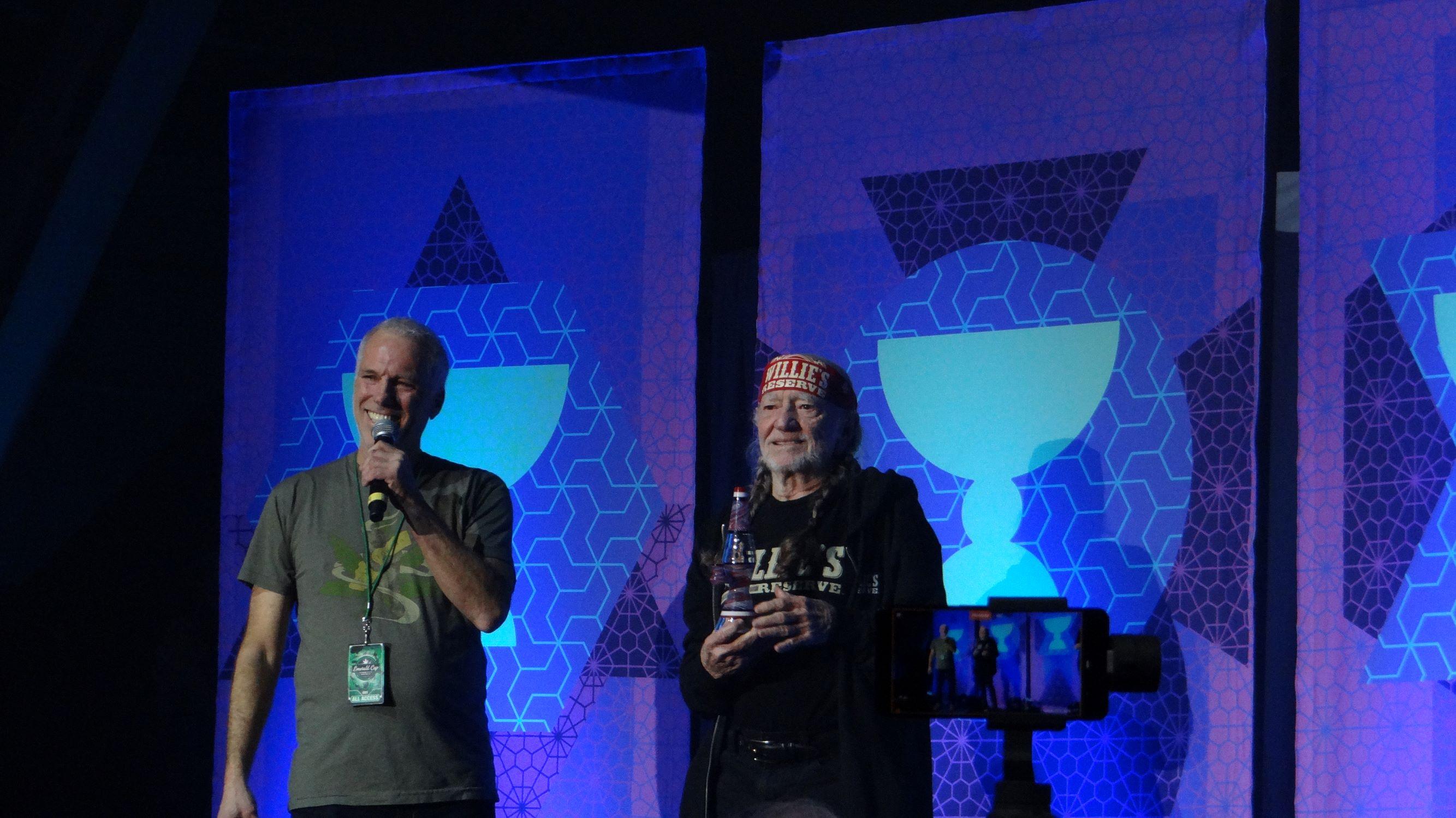 Tim Blake & Willie Nelson