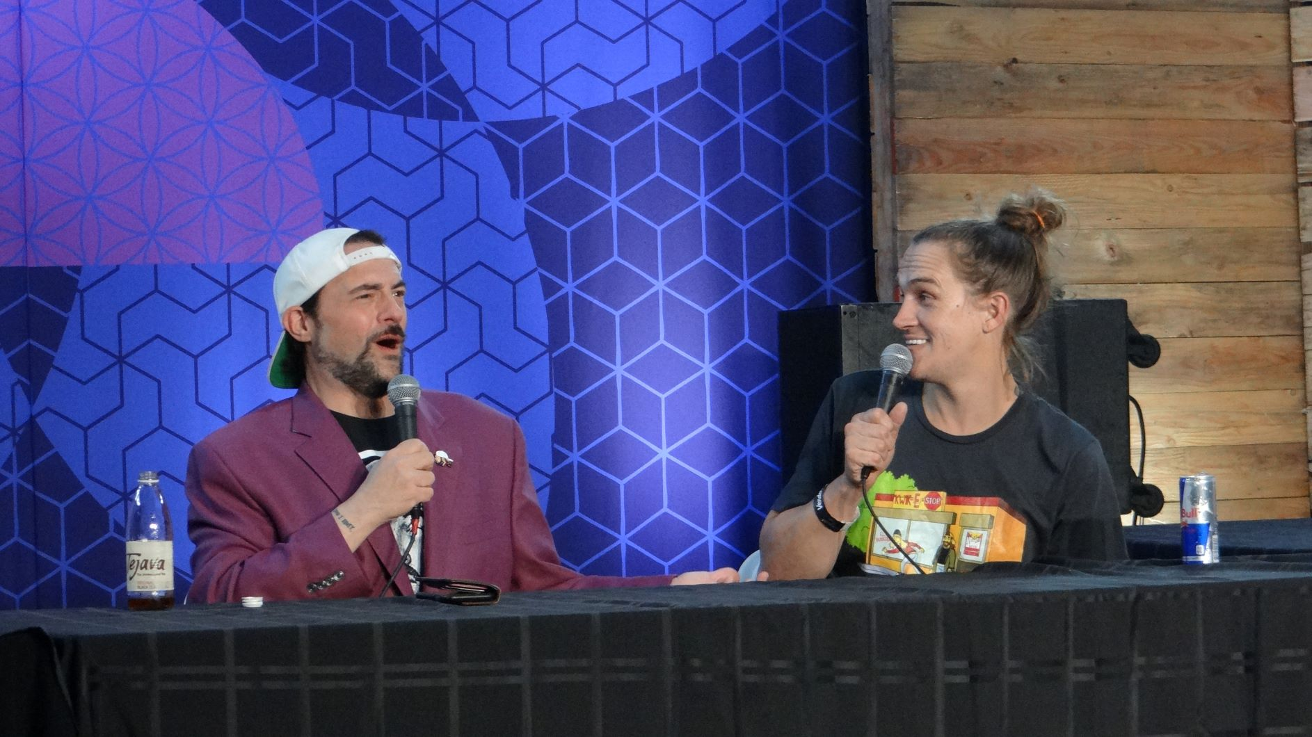 Jay and silent Bob onstage